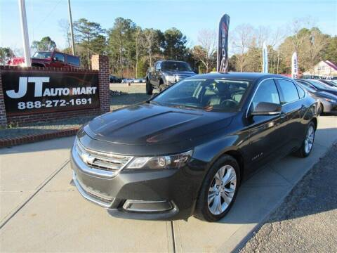 2015 Chevrolet Impala for sale at J T Auto Group in Sanford NC