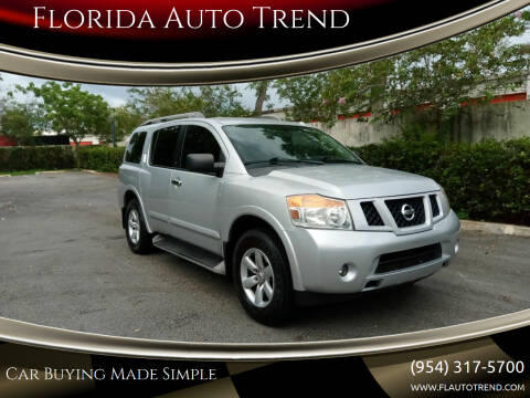 2013 Nissan Armada for sale at Florida Auto Trend in Plantation FL
