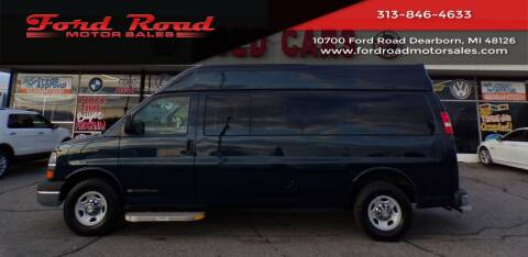 2013 Chevrolet Express Passenger for sale at Ford Road Motor Sales in Dearborn MI