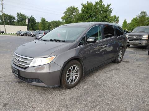 2012 Honda Odyssey for sale at Cruisin' Auto Sales in Madison IN