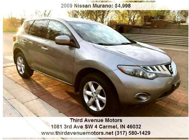 2009 Nissan Murano for sale at Third Avenue Motors Inc. in Carmel IN