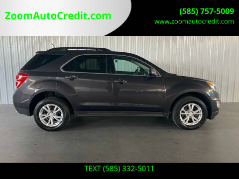 2016 Chevrolet Equinox for sale at ZoomAutoCredit.com in Elba NY