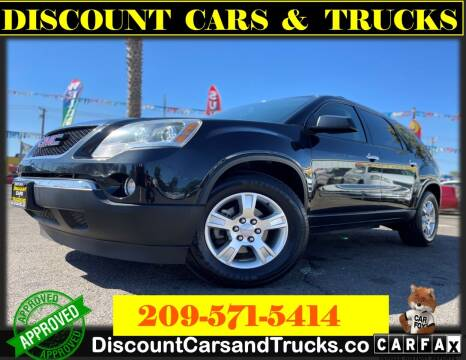 2011 GMC Acadia for sale at Discount Cars & Trucks in Modesto CA