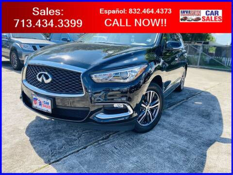 2017 Infiniti QX60 for sale at HOUSTON CAR SALES INC in Houston TX