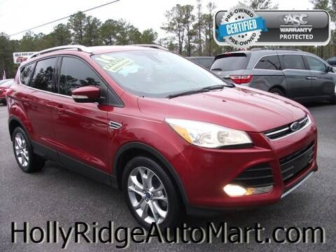 2014 Ford Escape for sale at Holly Ridge Auto Mart in Holly Ridge NC