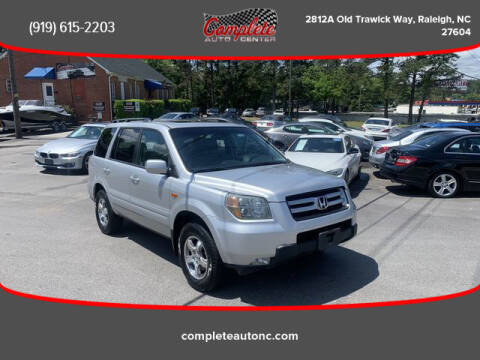2006 Honda Pilot for sale at Complete Auto Center , Inc in Raleigh NC