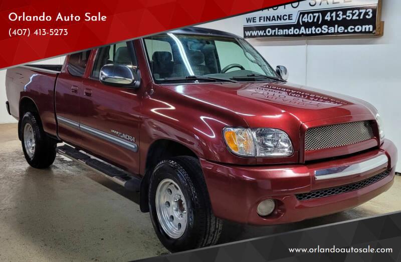 2004 Toyota Tundra for sale at Orlando Auto Sale in Orlando FL