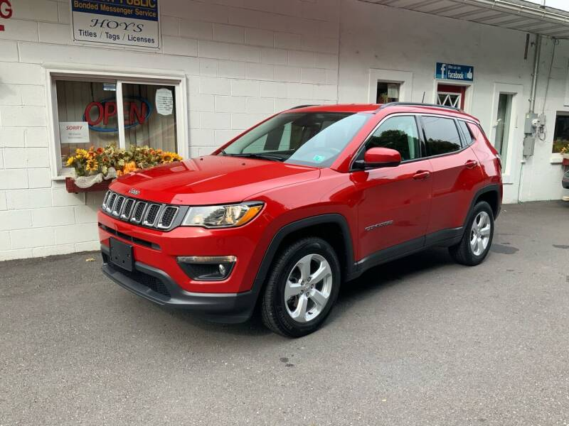 2018 Jeep Compass for sale at Hoys Used Cars in Cressona PA