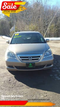 2005 Honda Odyssey for sale at Shamrock Auto Brokers, LLC in Belmont NH