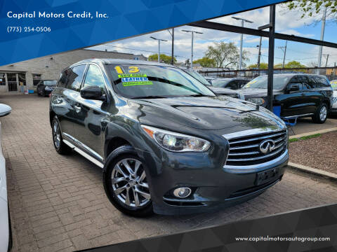 2013 Infiniti JX35 for sale at Capital Motors Credit, Inc. in Chicago IL