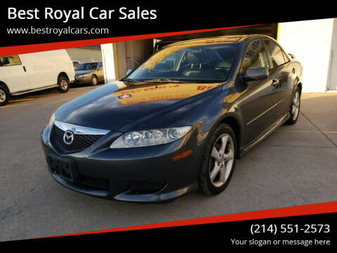 2003 Mazda MAZDA6 for sale at Best Royal Car Sales in Dallas TX