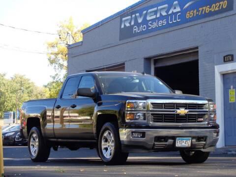 2014 Chevrolet Silverado 1500 for sale at Rivera Auto Sales LLC in Saint Paul MN