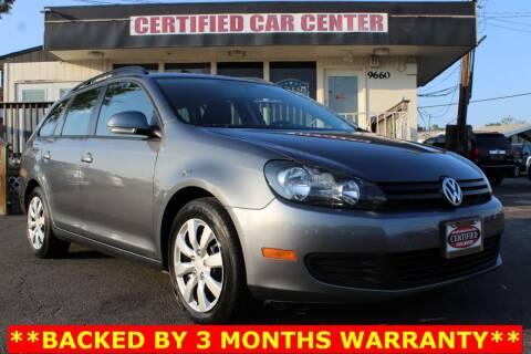 2011 Volkswagen Jetta for sale at CERTIFIED CAR CENTER in Fairfax VA