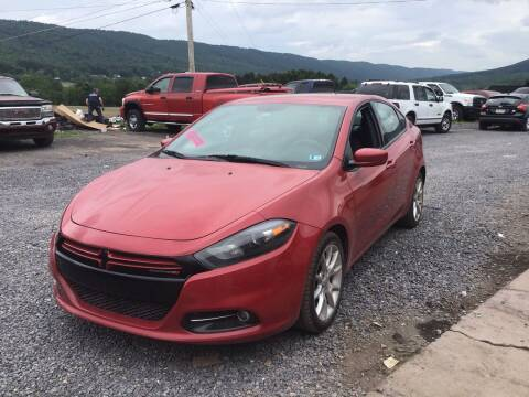 2013 Dodge Dart for sale at Troys Auto Sales in Dornsife PA