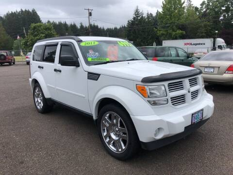 2011 Dodge Nitro for sale at Freeborn Motors in Lafayette, OR