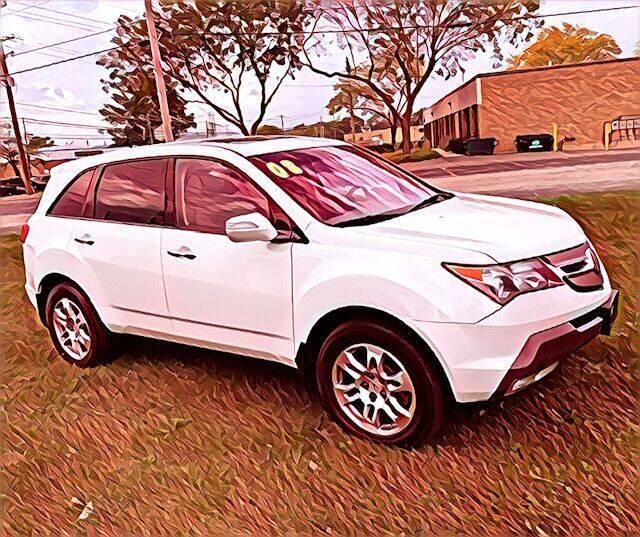 2008 Acura MDX for sale at Del Sol Auto Mart in Des Plaines IL