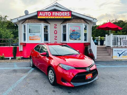 2019 Toyota Corolla for sale at Auto Finders Unlimited LLC in Vineland NJ