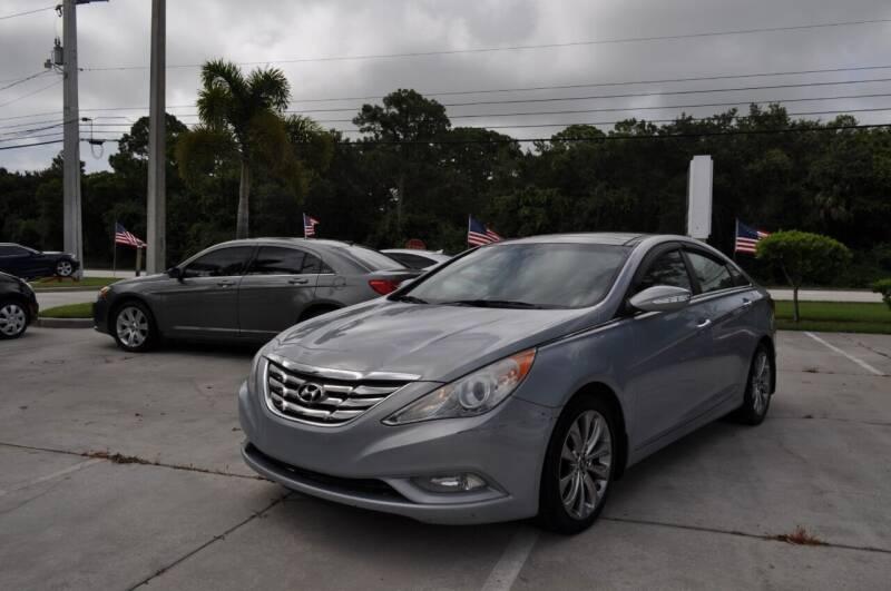 2012 Hyundai Sonata for sale at STEPANEK'S AUTO SALES & SERVICE INC. in Vero Beach FL