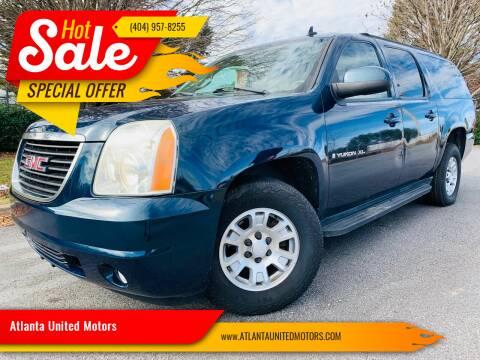 2007 GMC Yukon XL for sale at Atlanta United Motors in Buford GA
