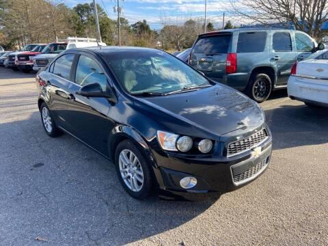 2014 Chevrolet Sonic for sale at Premium Auto Brokers in Virginia Beach VA