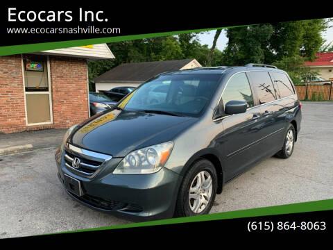 2005 Honda Odyssey for sale at Ecocars Inc. in Nashville TN