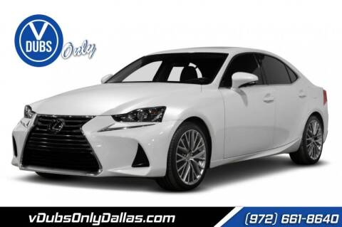 2017 Lexus IS 200t for sale at VDUBS ONLY in Dallas TX