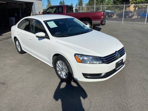 2013 Volkswagen Passat for sale at Vista Auto Sales in Lakewood WA
