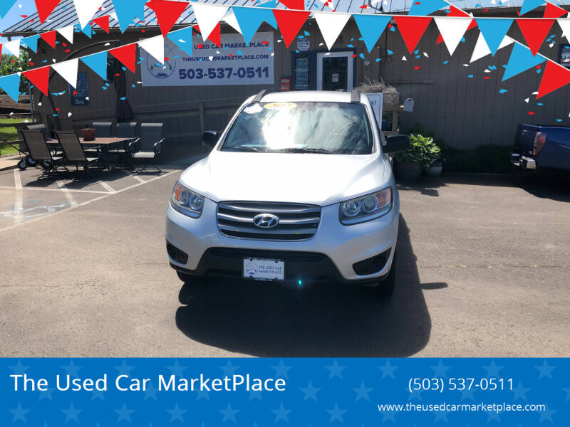 2012 Hyundai Santa Fe for sale at The Used Car MarketPlace in Newberg OR