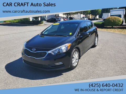 2015 Kia Forte5 for sale at Car Craft Auto Sales Inc in Lynnwood WA