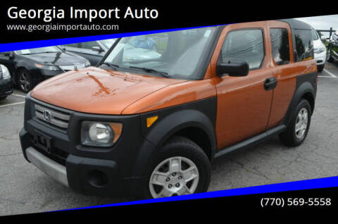 2007 Honda Element for sale at Georgia Import Auto in Alpharetta GA