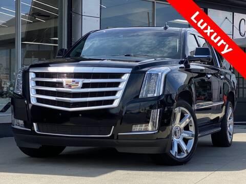 2018 Cadillac Escalade ESV for sale at Carmel Motors in Indianapolis IN