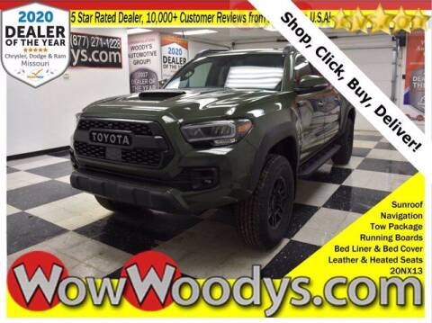 2020 Toyota Tacoma for sale at WOODY'S AUTOMOTIVE GROUP in Chillicothe MO