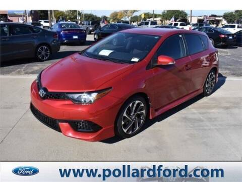 2017 Toyota Corolla iM for sale at South Plains Autoplex by RANDY BUCHANAN in Lubbock TX