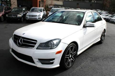 2014 Mercedes-Benz C-Class for sale at Atlanta Unique Auto Sales in Norcross GA