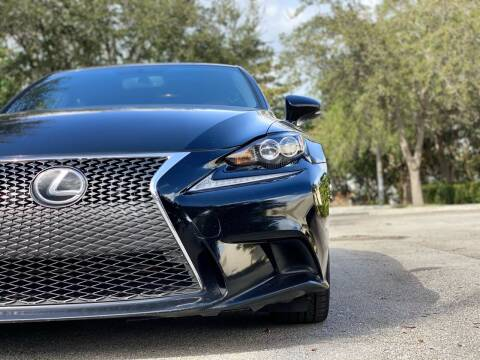 2015 Lexus IS 350 for sale at HIGH PERFORMANCE MOTORS in Hollywood FL