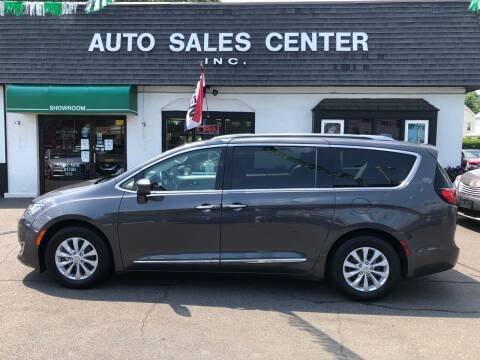 2018 Chrysler Pacifica for sale at Auto Sales Center Inc in Holyoke MA