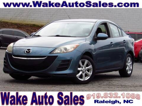 2010 Mazda MAZDA3 for sale at Wake Auto Sales Inc in Raleigh NC