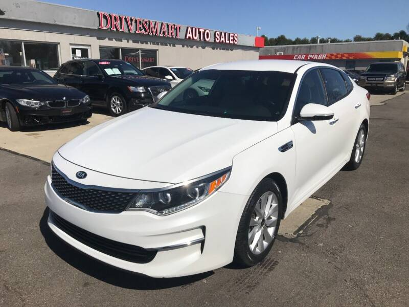 2016 Kia Optima for sale at DriveSmart Auto Sales in West Chester OH