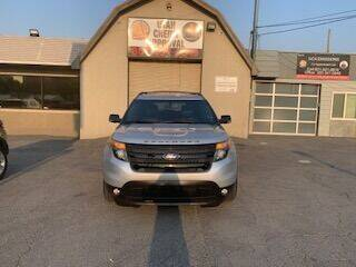 2014 Ford Explorer for sale at Utah Credit Approval Auto Sales in Murray UT