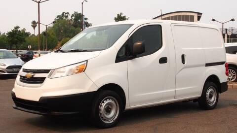 2017 Chevrolet City Express Cargo for sale at Okaidi Auto Sales in Sacramento CA