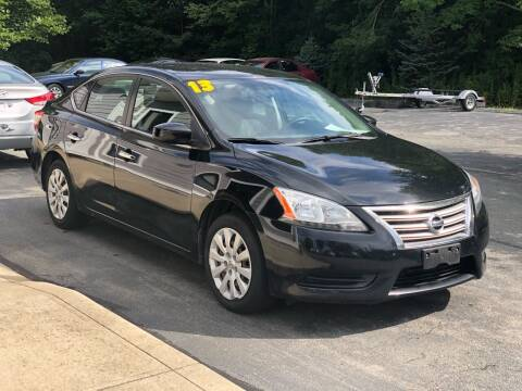 2013 Nissan Sentra for sale at Elite Auto Sales in North Dartmouth MA