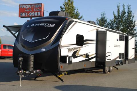2021 Laredo 332BH for sale at Frontier Auto & RV Sales in Anchorage AK