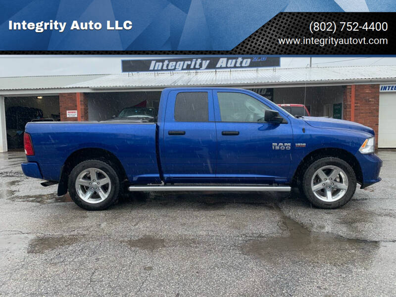 2018 RAM Ram Pickup 1500 for sale at Integrity Auto LLC - Integrity Auto 2.0 in St. Albans VT