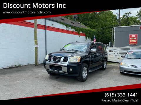 2004 Nissan Armada for sale at Discount Motors Inc in Nashville TN