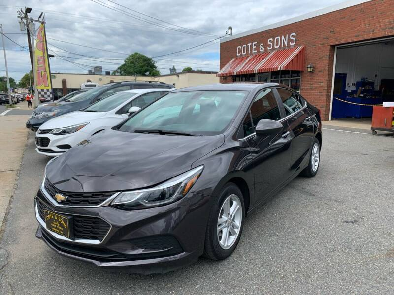 2017 Chevrolet Cruze for sale at Cote & Sons Automotive Ctr in Lawrence MA