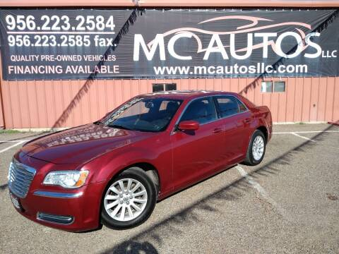 2013 Chrysler 300 for sale at MC Autos LLC in Pharr TX