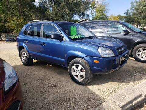 2008 Hyundai Tucson for sale at Northwoods Auto & Truck Sales in Machesney Park IL