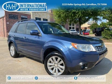 2012 Subaru Forester for sale at International Motor Productions in Carrollton TX