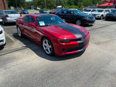 2015 Chevrolet Camaro for sale at City to City Auto Sales in Richmond VA