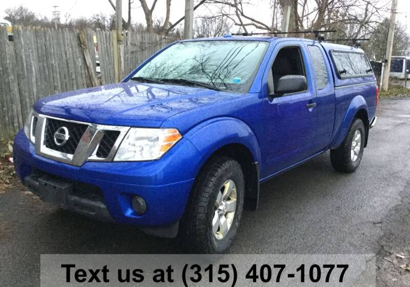 2012 Nissan Frontier for sale at Pete Kitt's Automotive Sales & Service in Camillus NY